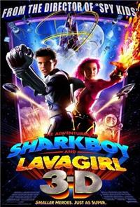 The Adventures of Sharkboy and Lavagirl in 3-D (2005) 1080p Poster