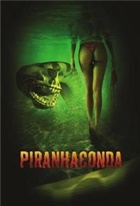 Piranhaconda (2011) Poster