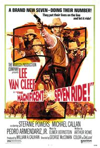 The Magnificent Seven Ride! (1972) Poster