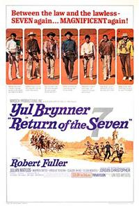 Return of the Seven (1966) 1080p Poster