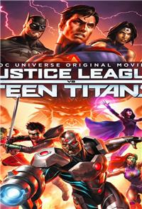 Justice League vs. Teen Titans (2015) Poster