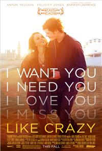 Like Crazy (2011) 1080p Poster