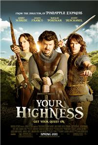 Your Highness (2011) 1080p Poster