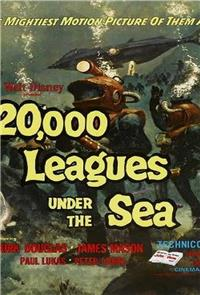 20,000 Leagues Under The Sea (1954) 1080p Poster