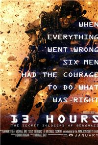 13 Hours: The Secret Soldiers of Benghazi (2016) 1080p Poster