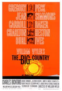 The Big Country (1958) Poster