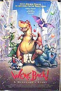 We're Back! A Dinosaur's Story (1993) 1080p Poster