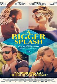 A Bigger Splash (2015) Poster