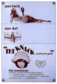 The Knack...And How to Get It (1965) Poster