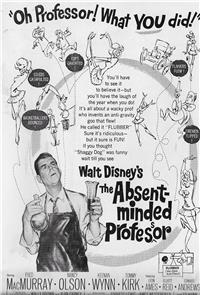 The Absent-Minded Professor (1961) 1080p Poster