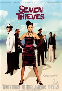 Seven Thieves (1960) 1080p Poster