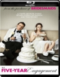 The Five-Year Engagement (2012) 1080p Poster