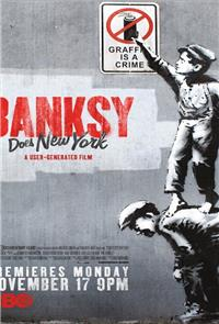 Banksy Does New York (2014) 1080p Poster