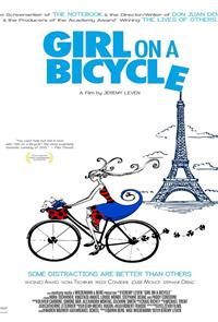 Girl On A Bicycle (2014) 1080p Poster