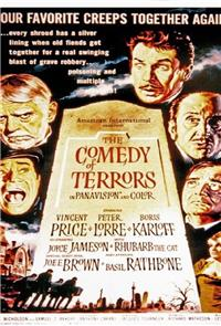 The Comedy of Terrors (1964) Poster