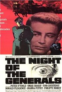 The Night of the Generals (1967) Poster