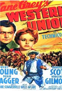 Western Union (1941) 1080p Poster