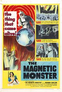 The Magnetic Monster (1953) 1080p Poster