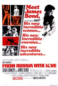 From Russia With Love (1964) Poster