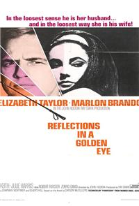 Reflections in a Golden Eye (1967) Poster