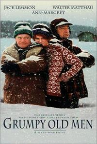 Grumpy Old Men (1993) Poster