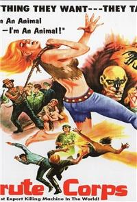 Brute Corps (1972) Poster