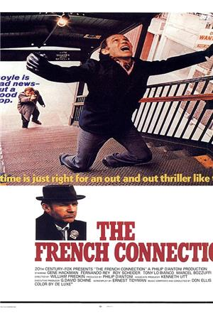 The French Connection (1971) 1080p Poster
