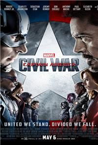 Captain America: Civil War (2016) 3D Poster