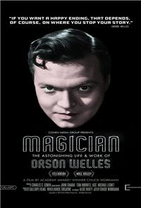 Magician: The Astonishing Life and Work of Orson Welles (2014) Poster