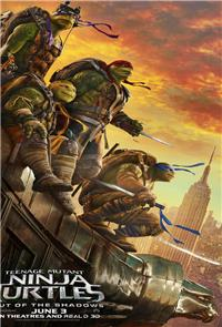 Teenage Mutant Ninja Turtles: Out of the Shadows (2016) 3D Poster