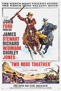 Two Rode Together (1961) 1080p Poster