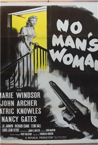 No Man's Woman (1955) Poster