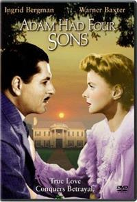 Adam Had Four Sons (1941) Poster