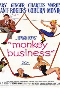 Monkey Business (1952) Poster