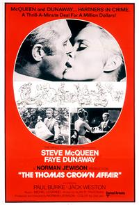 The Thomas Crown Affair (1968) 1080p Poster