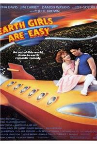 Earth Girls Are Easy (1989) Poster