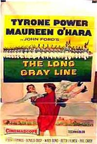 The Long Gray Line (1955) Poster