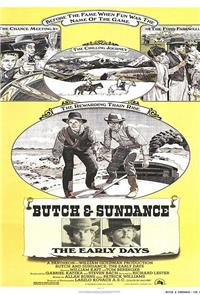 Butch and Sundance: The Early Days (1972) Poster