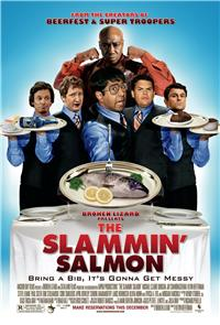 The Slammin' Salmon (2009) Poster