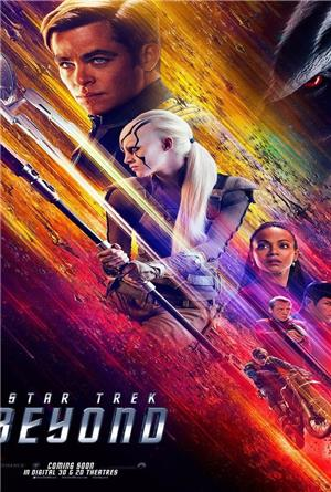 Star Trek Beyond (2016) 3D Poster