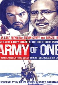 Army of One (2016) 1080p Poster