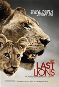 The Last Lions (2011) 1080p Poster