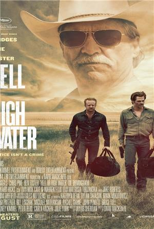 Hell or High Water (2016) 1080p Poster