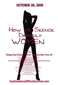How to Seduce Difficult Women (2009) Poster