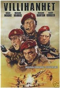 The Wild Geese (1978) 1080p Poster