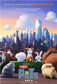 The Secret Life of Pets (2016) 3D Poster