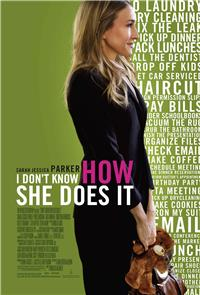 I Don't Know How She Does It (2011) 1080p Poster