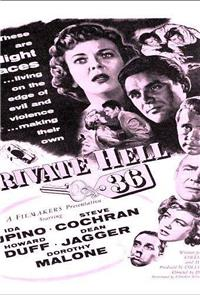 Private Hell 36 (1954) 1080p Poster