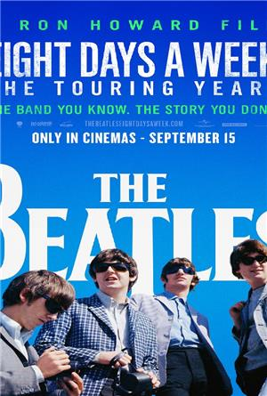 The Beatles: Eight Days a Week - The Touring Years (2016) 1080p Poster