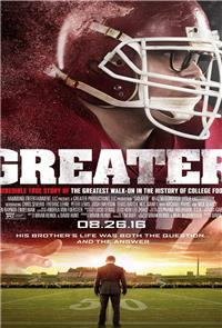 Greater: The Story of Brandon Burlsworth (2016) Poster